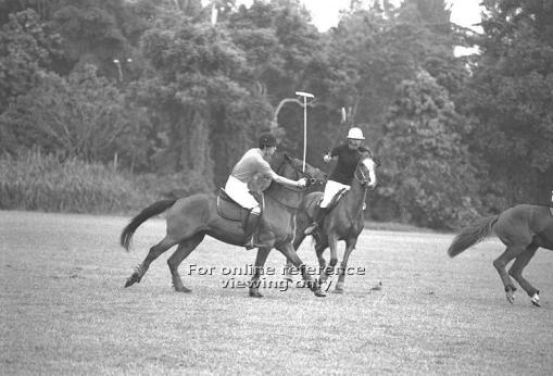 Prince Charles participating in a game on the Thomson Road ground in 1974 (source: http://archivesonline.nas.sg/).