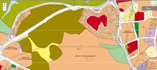 The area where the Polo Club is (in green) on the recently released URA Draft Master Plan, is designated for Sports and Recreation use, but the rest of the area around it may see a change.