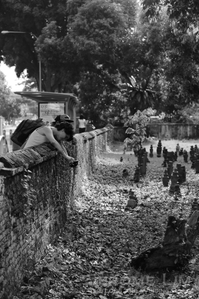 The presence of the grave sites close to the city does draw the curiosity of visitors to the area.