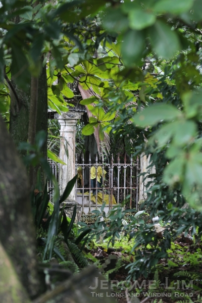 The old Muslim cemeteries at Jalan Kubor provide a gateway to a discarded past.