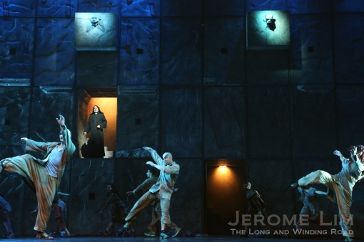Another scene shown during the preview - Refugees - which again was more about the dancing rather than singing.