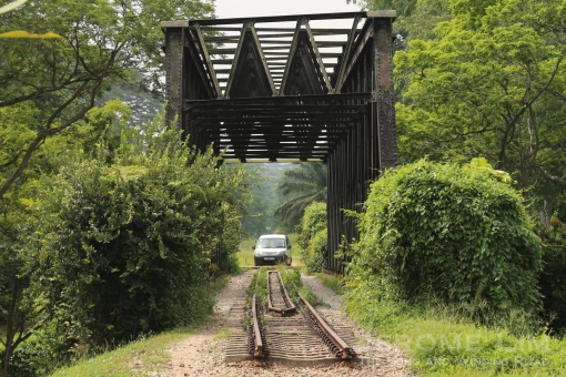The (former) rail corridor embarks on a different journey.