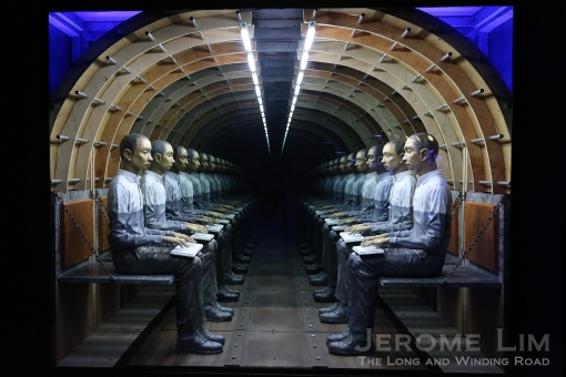 Mark Justiniani's 'Tunnel'.