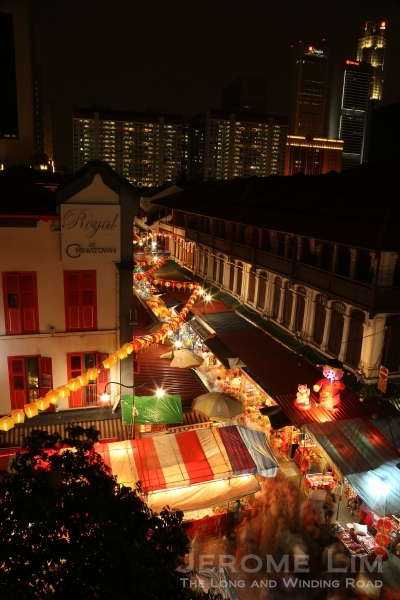 The streets come alive in the lead-up to Chinese New Year.
