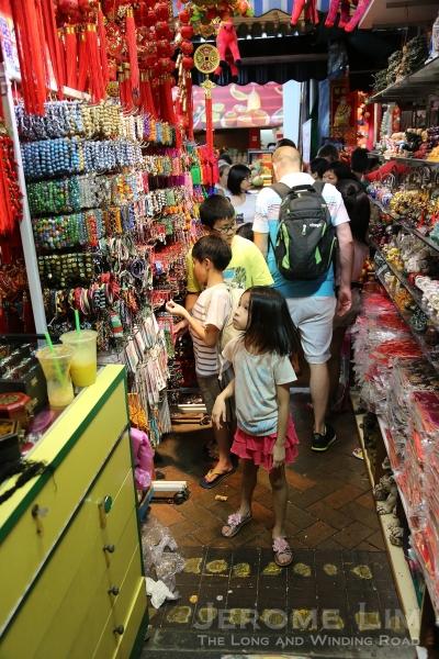 A young shopper.
