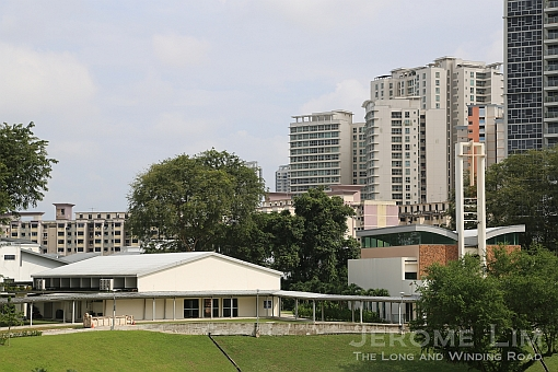 The former Thomson Secondary School, now occupied by SJI International.