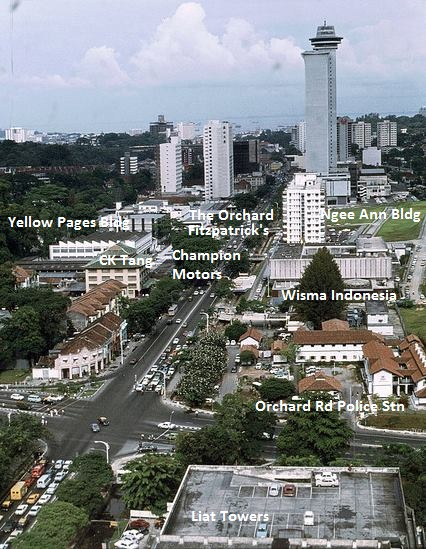 Orchard Road early 1970s