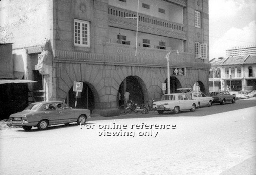 Queen Street Post Office which was to close in May 1978 is seen next to the already demolished former Nantina Home (photo source: http://archivesonline.nas.sg/).