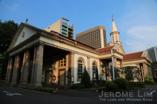 The Cathedral of the Good Shepherd, gazetted as a National Monument in 1973, is Singapore's oldest Catholic church.