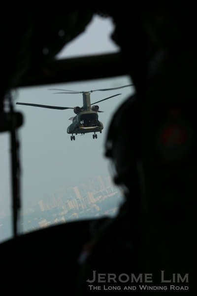 Stand a chance to win a ride on a Chinook (seen here) or a C-130 Transport Aircraft.