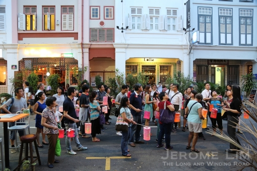 The lantern parade.