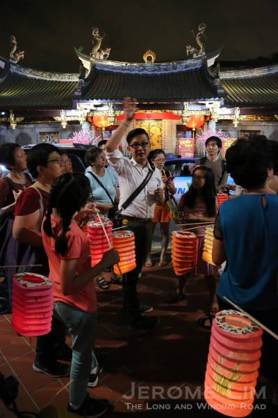 The lantern parade through the streets of Chinatown on what can be seen as a double Valentine's Day in search for a lost romance.