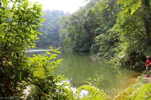 The former Seng Chew Granite Quarry.