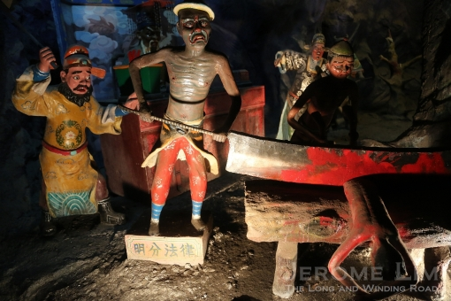 The gory Haw Par Villa - a one time favourite outing destination.
