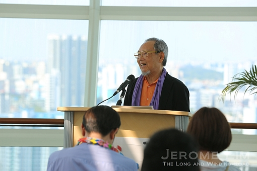 Mr. Lee Jongkeun, a second-generation Korean resident in Japan who was 15 when the bomb fell on Hiroshima.