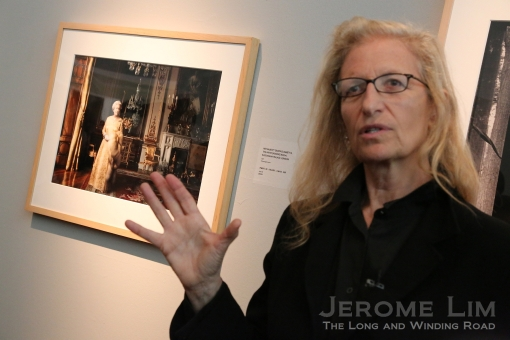 Annie Leibovitz on her portrait of the Queen.