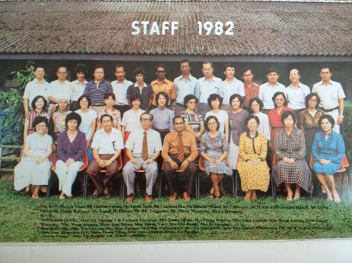Members of the Staff, 1982.
