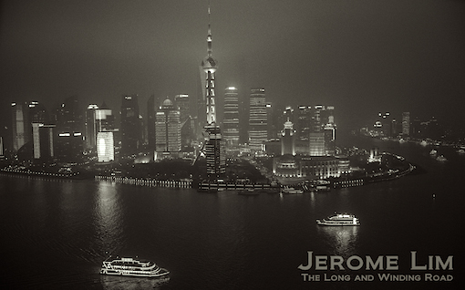 The view of Pudong that the Vue offers.