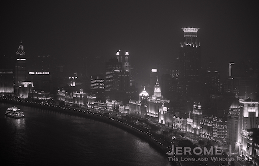 And a view of the Bund.