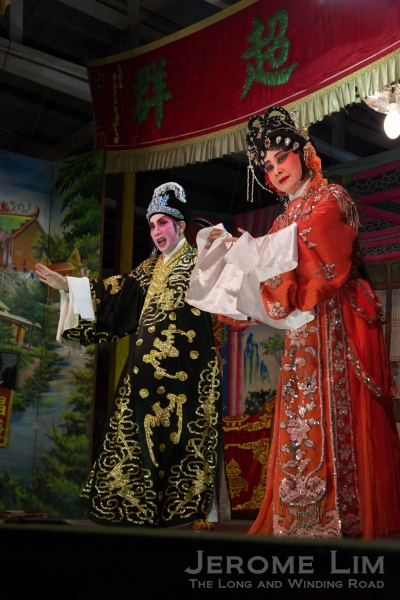 The Teochew Opera performances is one of the draws of the festival.