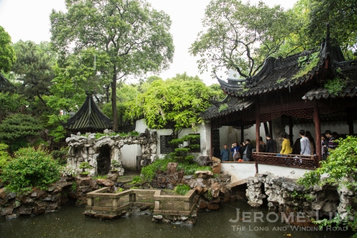 The traditional garden - the must-see Yu Garden in the Old City that dates back to the Ming Dynasty.