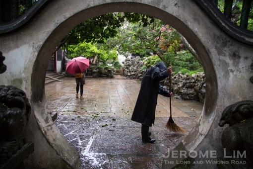 A portal into old Shanghai, Yu Garden.