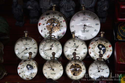Time is ticking on Dongtai Road Antiques Market - it will soon be a victim of urbanisation.