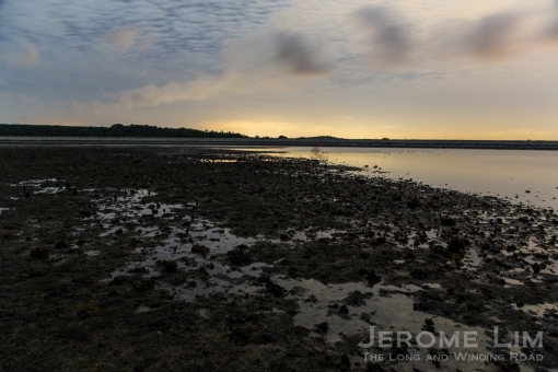 One of the magical moment I am losing sleep over - first light over a submerged reef at exposed at low tide.