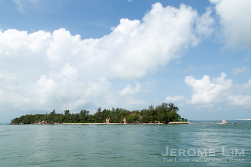 Pulau Tekukor or Dove Island - hear stories of its past when it was known as Pulau Penyabong and its association with the origins of the former name of Sentosa, Pulau Blakang Mati.