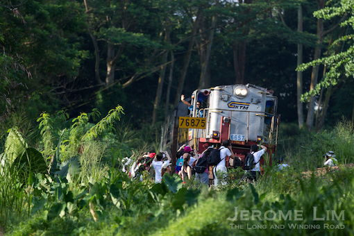 We wave goodbye to the Malayan Railway trains through Singapore 3 years ago on 30 June 2011.