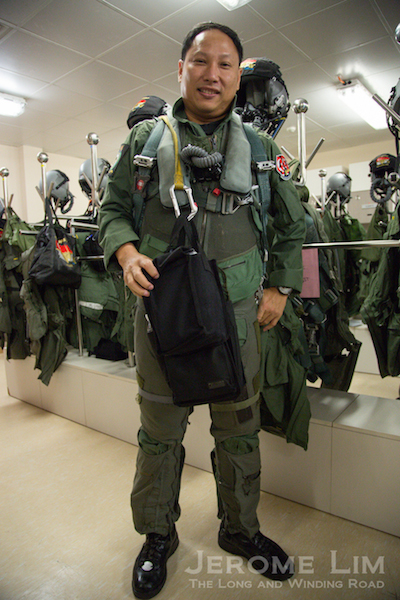 The entire flight kit weighs as much as 15 kg.