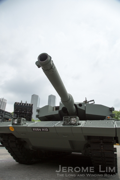 The Leopard 2 MBT will feature in the Dynamic Display segment.