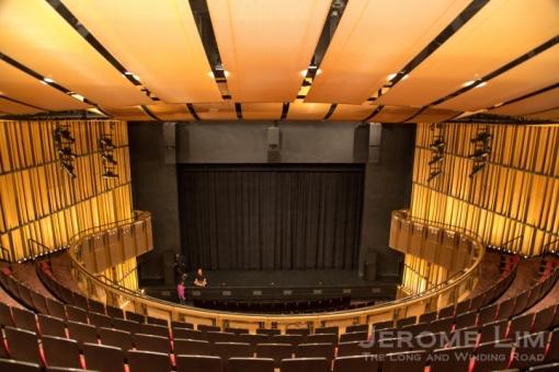 The refurbished theatre.