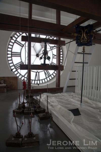 The clock level.