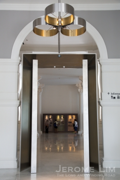 The entrance to the former Victoria Memorial Hall - the area below the concert hall where the box office is located.