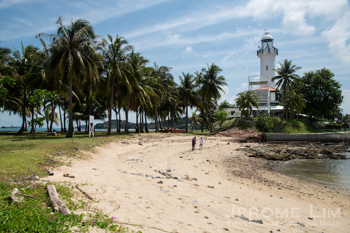 One of the highlights of this year's HeritageFest is a lighthouse trail that includes a stop on Pulau Satumu, Singapore's southernmost island, on top of which Raffles' Lighthouse is perched.