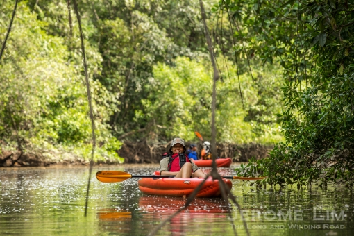 Khatib Bongsu is a watery but very green world.