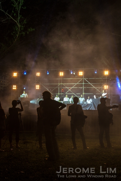Watch 10 local DJs spin together on Stage at the SMU Green in the Young Hearts Zone.