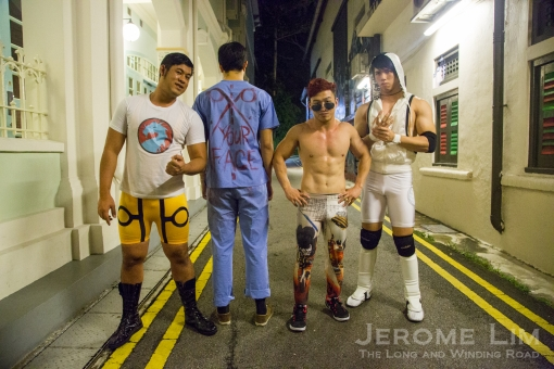 Singapore Pro Wrestling comes to the alleyways ...