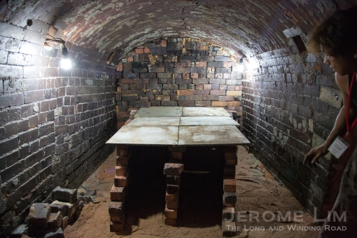 The packed kiln.