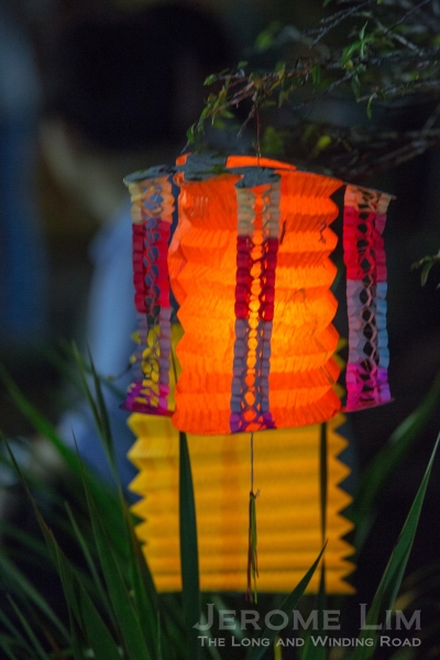 Lanterns for the Mid-Autumn Festival.