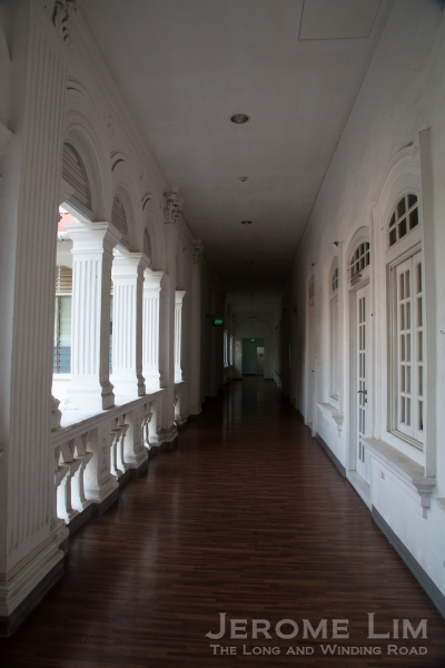 Silent corridors at the Redemptorist Residence the morning after.