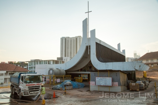 The former chapel of TTC - being turned into a fine-dining restaurant.