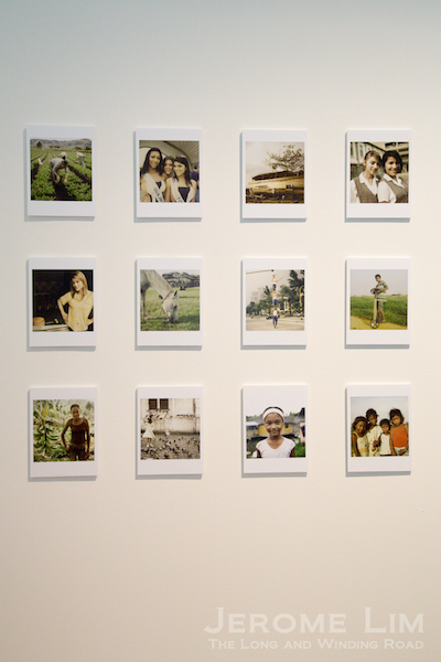 Polaroids from Matthew O'Brien's No Dar Papaya.
