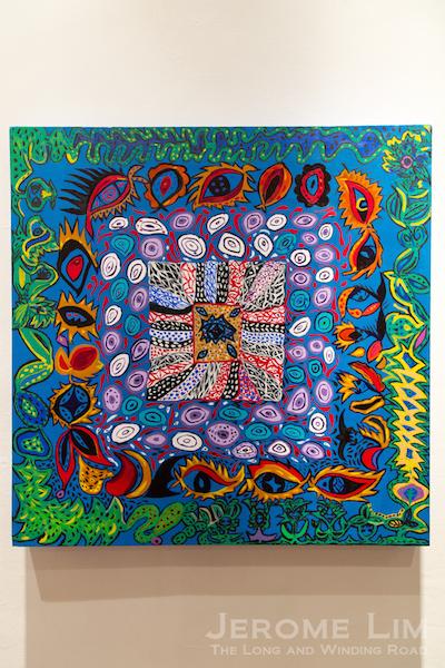 A work inspired by Yayoi Kusama.