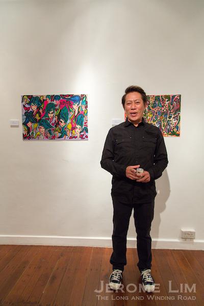 Curator, Steven Lim.