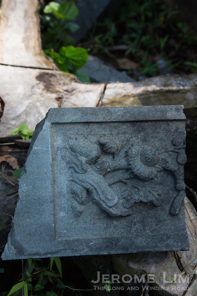 A fragment of the past  found on the hills of Tiong Lama.