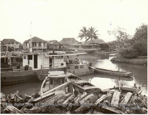 Tuas Village, 1970. [This digital copy (c) National Library Board Singapore 2008. The original work (c) Tan Marilyn].