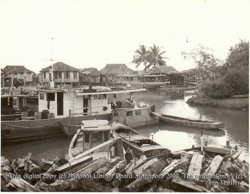 Tuas Village, 1970. [This digital copy (c) National Library Board Singapore 2008. The original work (c) Tan Marilyn].