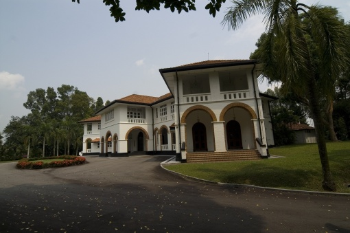 Command House after refurbishment in 2007 (photo courtesy of Singapore Land Authority).